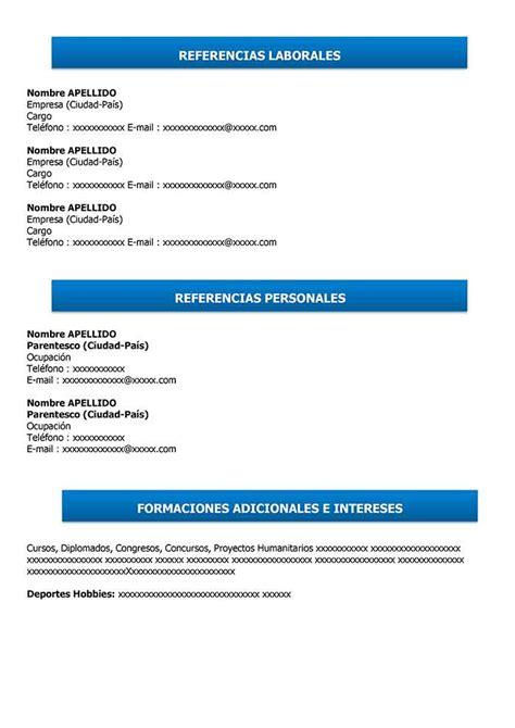 Exemple Cv Simple by Curriculum Vitae Simple Para Completar E Imprimir Modelo Cv