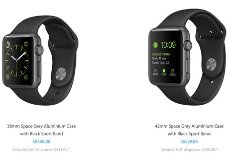 apple watch singapore apple watch gets new bands and lower starting price