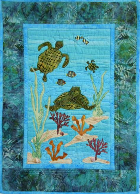 Turtle Quilt Pattern Free by Quilting Patterns