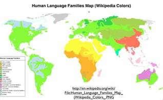 Language Map Of The World by January 2013 Archives Geocurrents