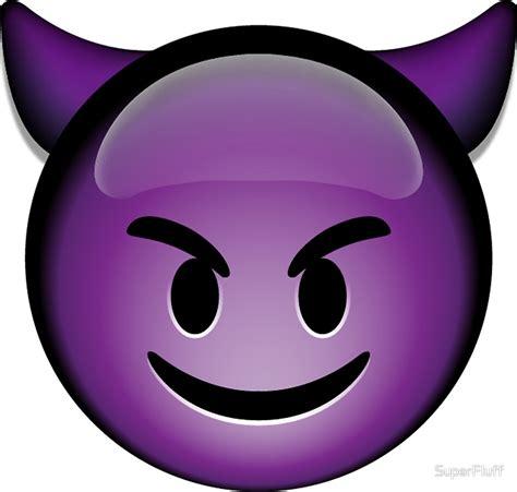 Purple Devil Emoji: Gifts & Merchandise   Redbubble