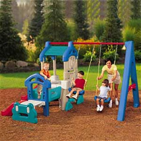 plastic swing sets for toddlers 5 tips for choosing the best swing set an expert s guide