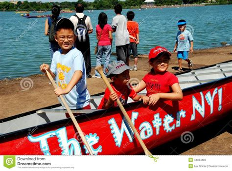dragon boat festival 2018 blue island a boat beached at delta junction editorial photo