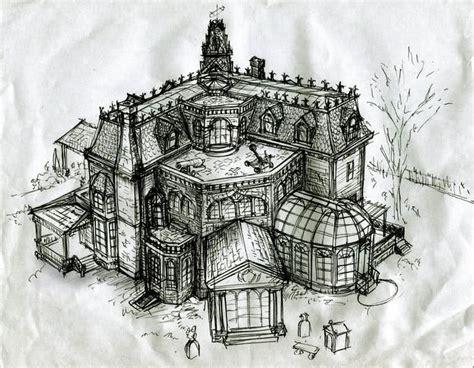 addams family mansion floor plan 130 best
