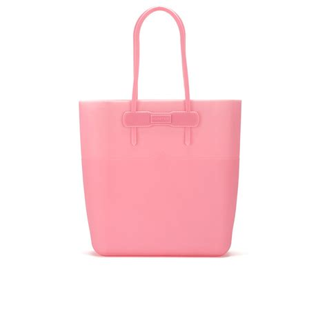 Bag Fashion S744 Pink s original silicone tote bag rhodonite pink free uk delivery allsole