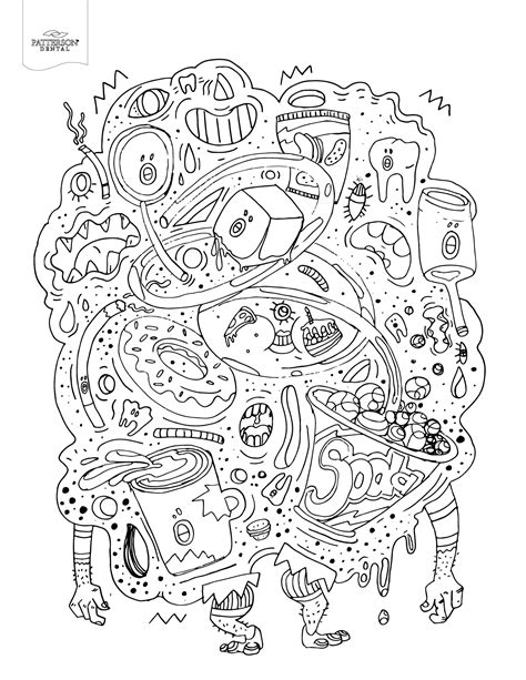 diys with food coloring 10 toothy coloring pages printable the cusp