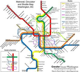 Metro Map by Map Do Metro De Washington Dc