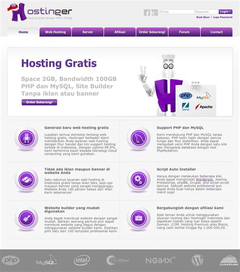 membuat website gratis di android cara upload file website ke hosting gratis needsindex com