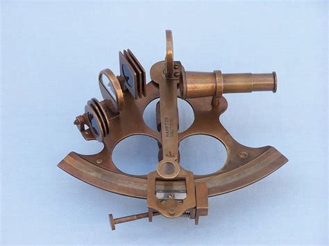 sextant sale buy captain s antique brass sextant 8 inch with rosewood