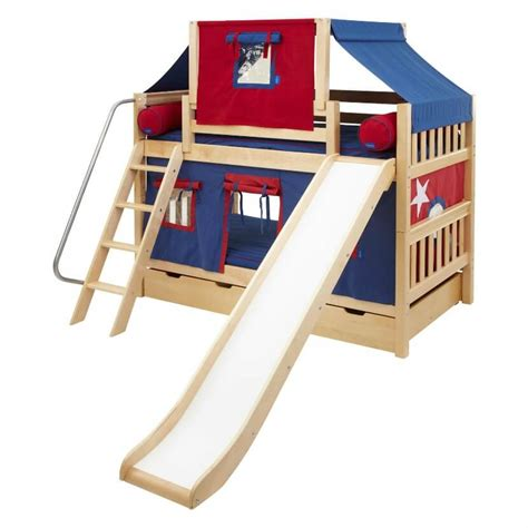 Bunk Bed Slide Only Top 10 Loft Beds With Slides