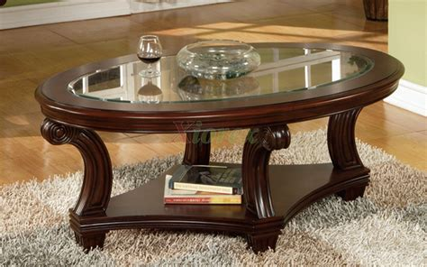 Dressing Vanity Tables Vintage Oval Glass Coffee Table