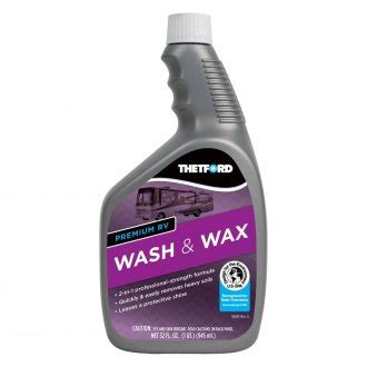 thetford marine boat wash rv cleaners tick stain plastic scratch removers
