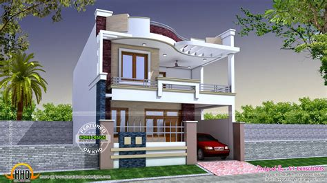 bungalow floor plan with elevation images duplex house