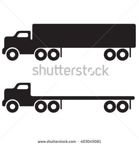 semi trailer stock vectors images vector art shutterstock