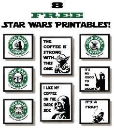 free wars printables with a coffee theme some of