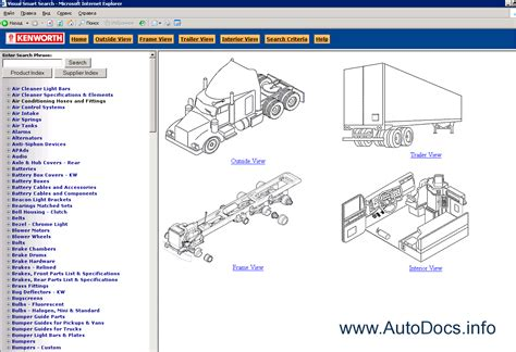 Kenworth Spare Parts Catalog Online 2010 Parts Catalog