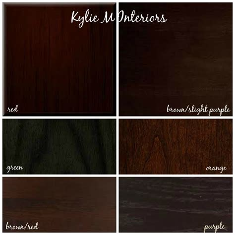 expresso color how to mix match and coordinate wood stains undertones