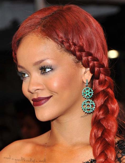 Rihanna Weave Hairstyles by Amazing Rihanna Hairstyles And Haircuts Random Talks