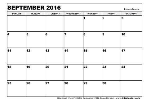 blank calendar september 2016 september 2016 calendar blank september 2016 calendar