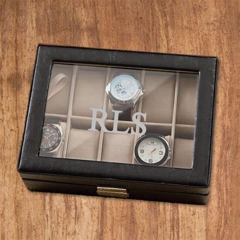 men s watch box personalized engraved groomsmen gift