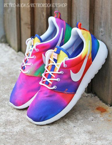 does the color run stain shoes details about nike roshe run tie dye european limited