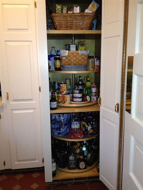 Lazy Susan For Pantry Closet by Impressive Lazy Susan Pantry Cabinet With Heavy Duty Brass