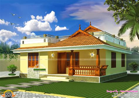 house plan small kerala home designs style plans