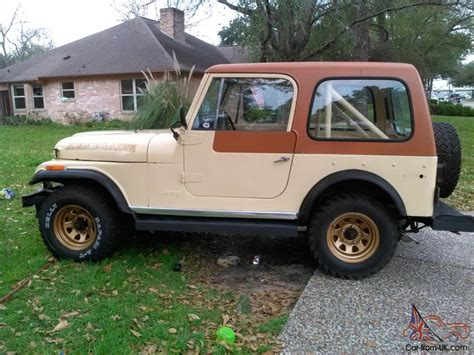 jeep amc amc wrangler cj7 jeep cj7