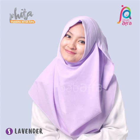 Jilbab Anak Afra Jual Jilbab Afra Pashmina Instan Phita Size S Hijabeve