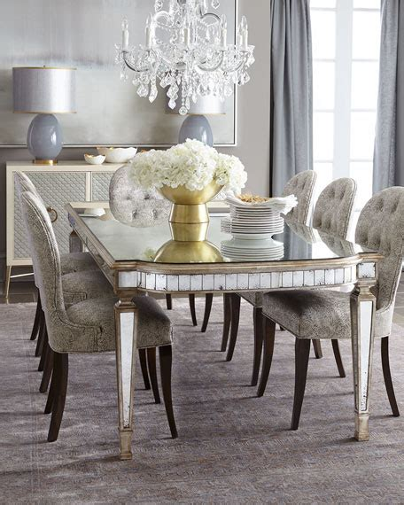 mirror dining room table dining room furniture at horchow