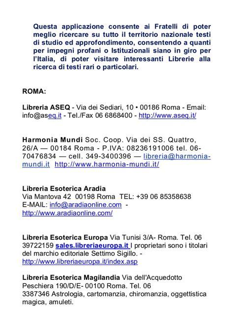librerie esoteriche roma area riservata sito della gran loggia degli alam