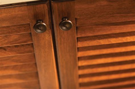 How To Make Louvered Cabinet Doors Louver Vented Cabinet Doors Are A Familiar Tropical Design Element They Work Wonders In