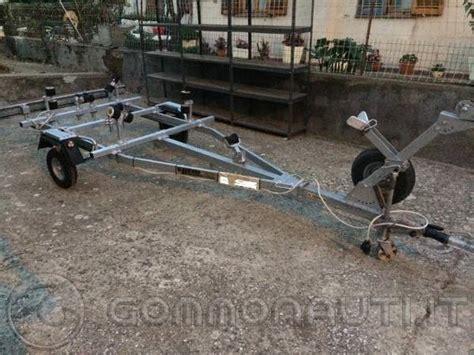 carrelli porta barca usati carrello portabarca gommone ellebi lbn 296