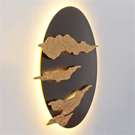 applique oro acquista firmamento applique led nero oro lade it