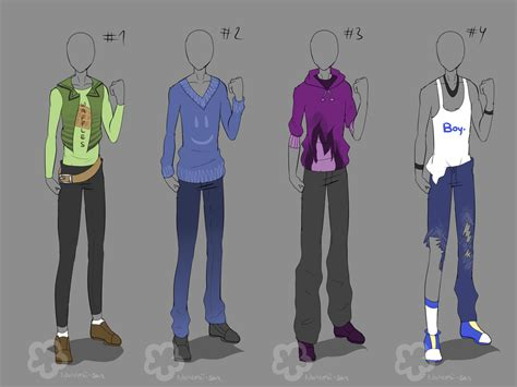 anime boy outfit ideas guy outfits sold by nahemii san on deviantart