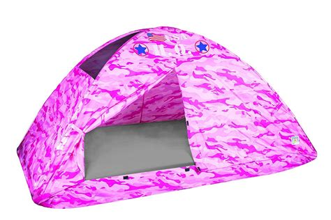 bed tent twin size pacific play tents kids pink camo bed tent playhouse