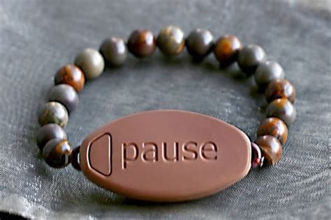 A Meaning to Pause Bracelet . reminds you to take time out of your day to remember whats