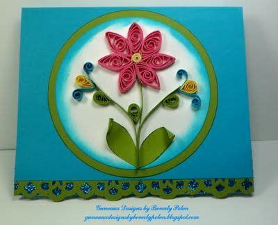 paper quilling greeting card tutorial guneaux designs by beverly polen stin up greeting