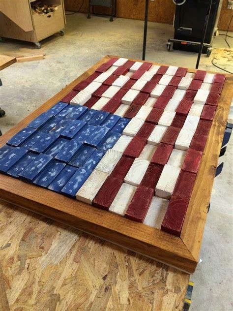 scrap  flag scrap wood projects flag decor wood