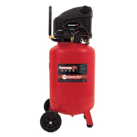 powermate vx 20 gal vertical electric air compressor with instant air plb1582019 the home depot