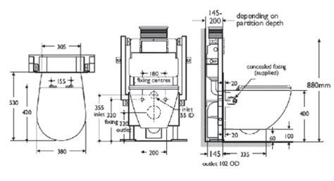 wall mounted toilet diagram vintage toilet diagram