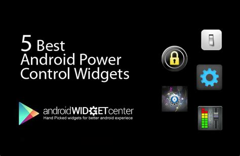 power widgets for android android toggle settings alternative