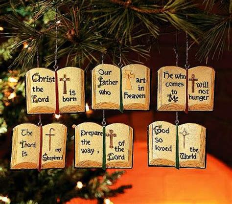 christmas themes bible pkg of 12 religious theme bible ornaments only 49 each