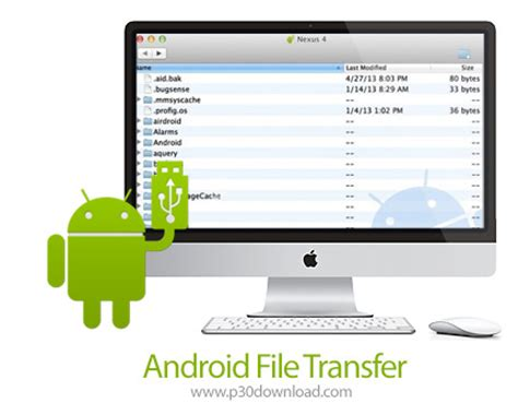 android transfer file android file transfer v1 0 macosx a2z p30 softwares