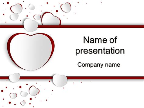 ppt themes love download free love day powerpoint template for your