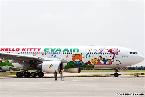 Legobrick Hello Air Plane Sanrio Brand hello jets cutest airplanes cnn travel