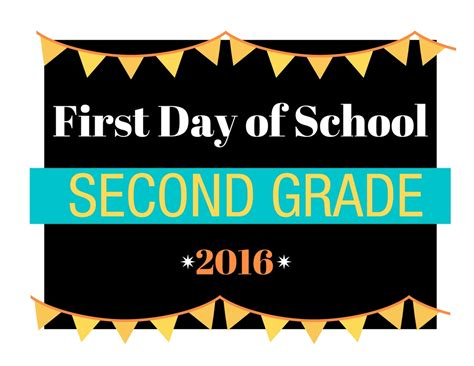 schools first day of first day of printable signs from preschool to college