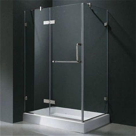 32 X 36 Shower Vigo Industries Frameless Rectangular Shower Enclosure