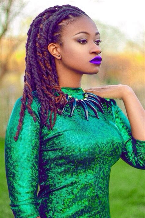 black woman model with dreadlocks on pinterest black is beautiful hair purple locs twists locs