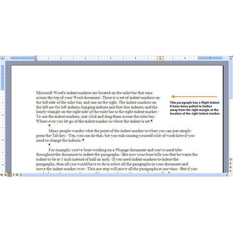 letter cover indent paragraphs